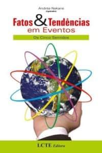 Capa do livro Fatos e Tendências em Eventos (organização de Andrea Nakane)