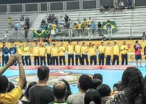 Equipe brasileira de handebol, medalha de ouro no Jogos Panamericanos de Toronto 2015