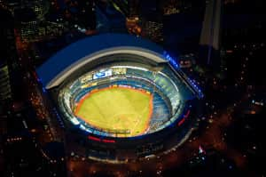 Vista Área do Roger Centre, local de abertura dos Jogos Panamericanos de Tornoto 2015